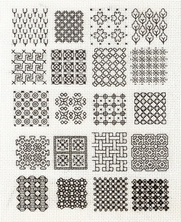 Blackwork Fill-in 1 | by unstitch
