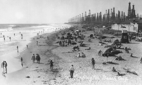 View from the Huntington Beach pier | by Orange County Archives