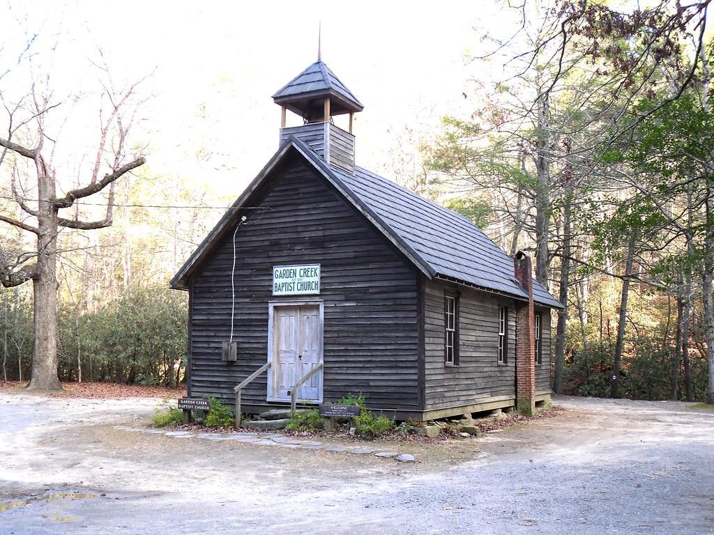 ... Garden Creek Church Baptist Church, (1897) Garden Creek School, Stone  Mountain State