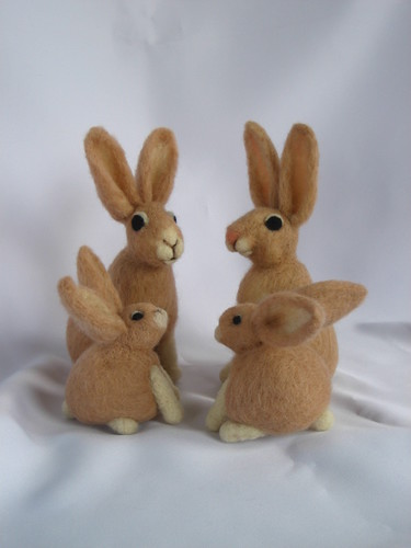 Custom Jack Bunny Family | by Handwork Naturals