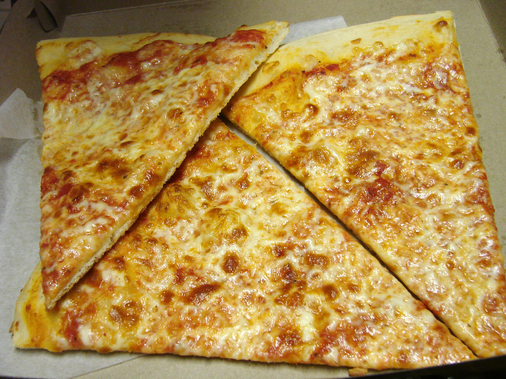 Nycblondieandbrownie 3 Slices Of 99 Cent Fresh Pizza