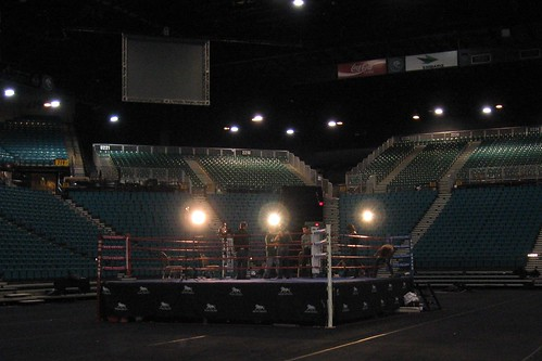 Boxing Ring Mgm Grand Site Of The Manny Pacquiao Vs