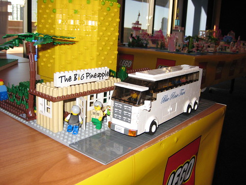 the bus arriving | by TheBrickMan