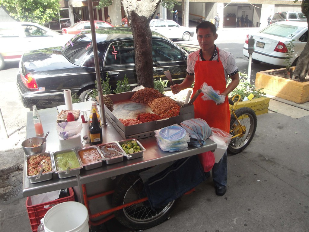 Amazing ... Taco Kitchen Tricicle | By Mexico Bike Tour