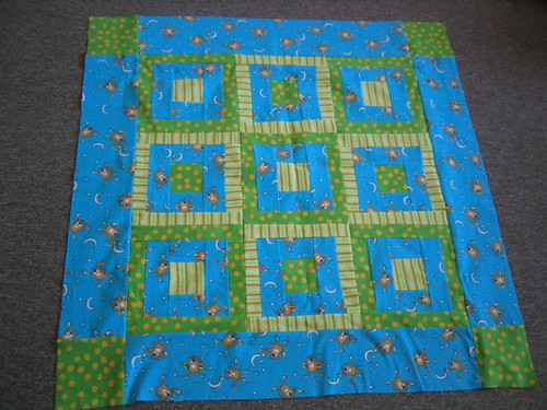 Quilt top for Diego | by Big Sister