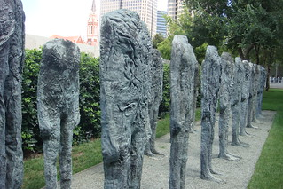 Magdalena Abakanowicz - Bronze Crowd | by kimncris