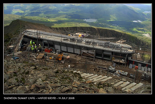 Snowdon Summit Cafe | by Paul Sivyer