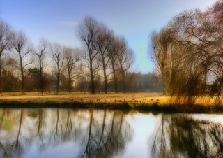 River Great Ouse, Godmanchester, Cambridgeshire, England. (HDR) | by mmayson