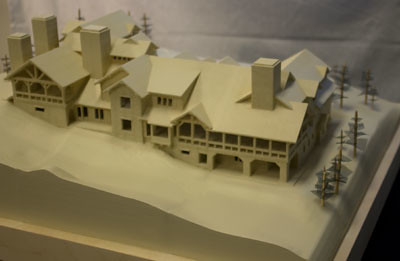 Mountain Lodge Scale Model - Sweet Onion Creations | by sweetonioncreations