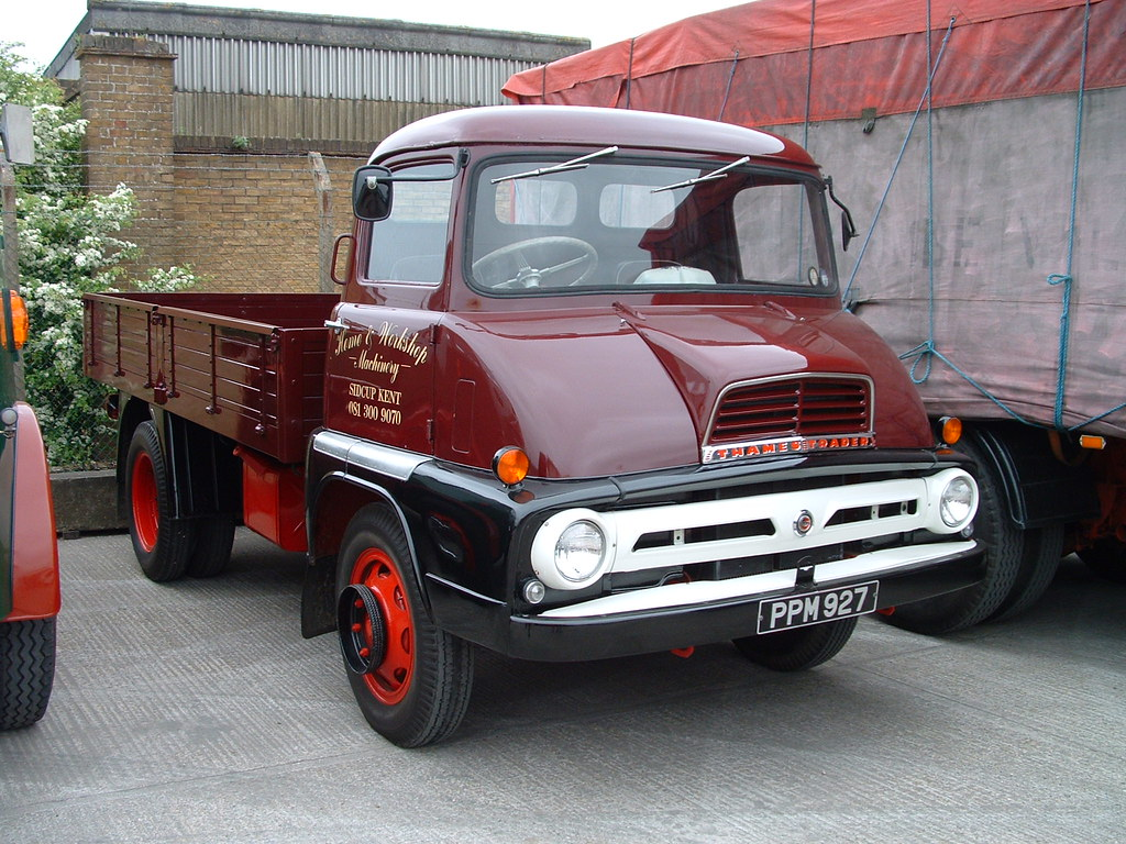 Ford Thames Trader Dropside truck | Channel Commercials Ashf… | Flickr