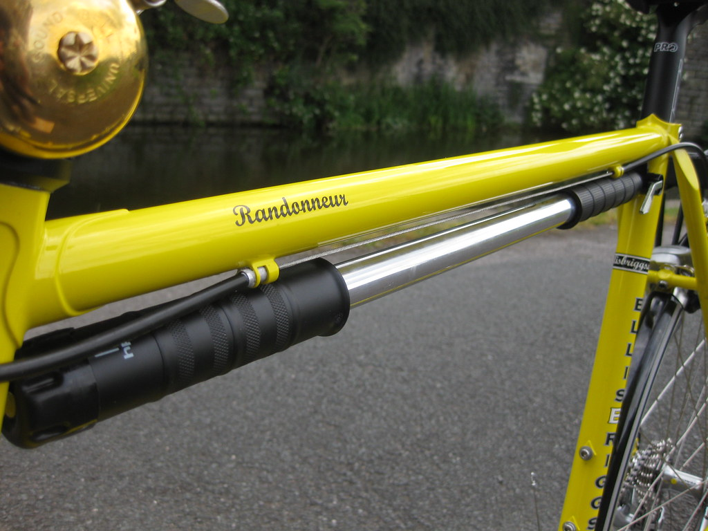 Ellis Briggs Randoneur Tiagra Canary Yellow Zefal Frame Fi… | Flickr