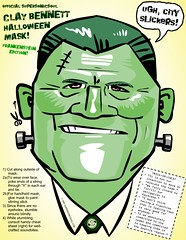 Clay Bennett Mask (monster version) | by supersonicsoul