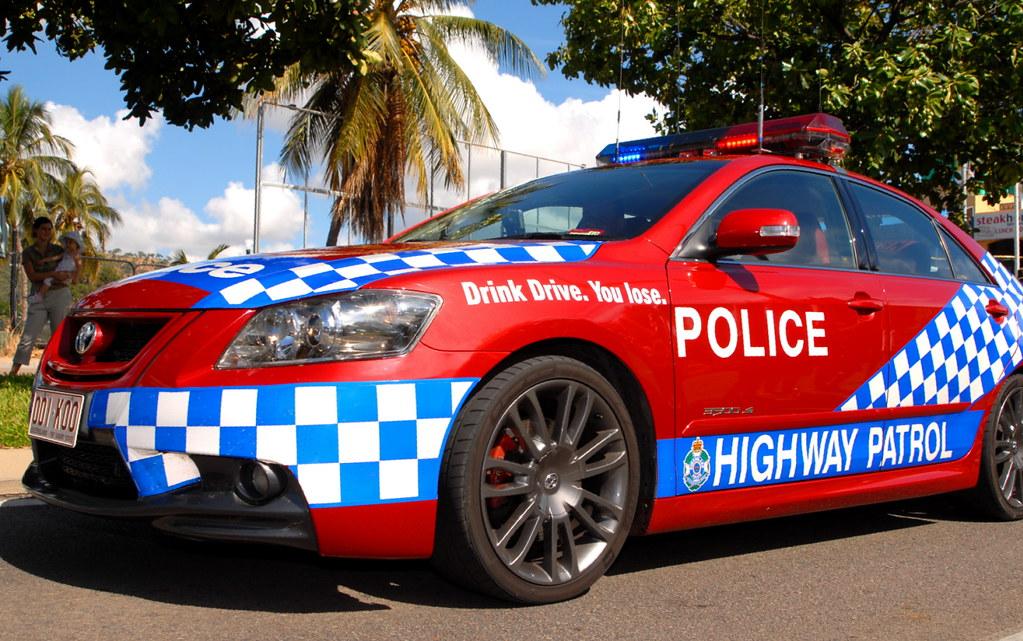 ... POLICE HIGHWAY PATROL CAR  AUSTRALIA | By CSI Pete