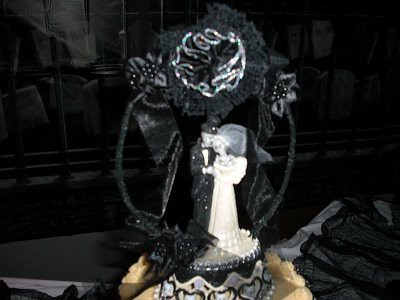 Wedding Cake Topper from our Halloween Vampire Wedding   Flickr