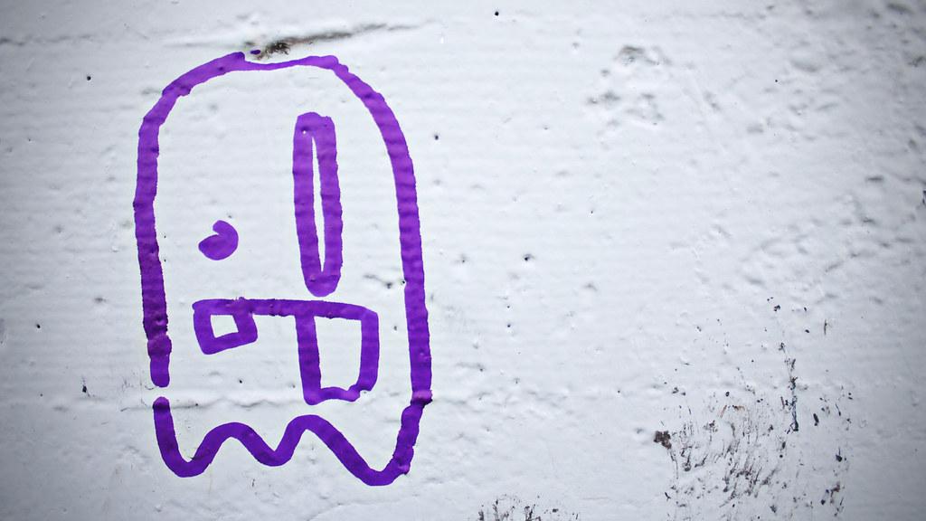 Pacman Graffiti By Ricky Romero
