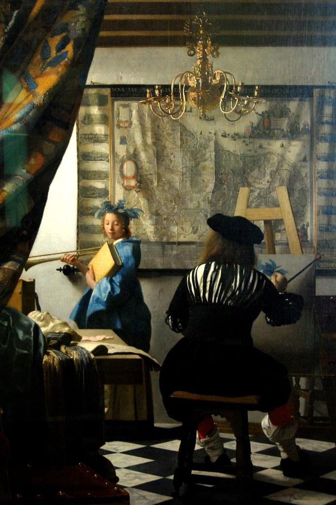 Die Malkunst | Johannes Vermeer van Delft Kunsthistorisches … | Flickr