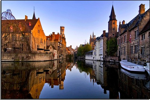 A Morning of Reflection In Bruges | by Nathan Bergeron Photography