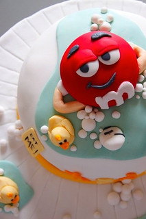 m&m cake1 | by Bake-a-boo Cakes NZ