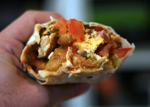 Up Close and Personal with My El Taco Breakfast Burrito | by Marshall Astor - Food Fetishist