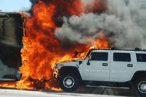Freeway conflagration | by (ariel)