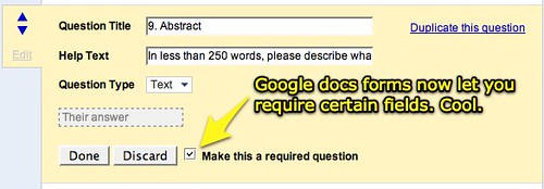 how to get a new link for google forms