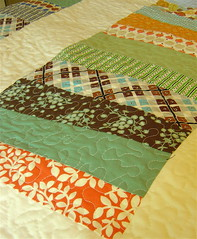 Quilting on Coin Quilt | by alissahcarlton