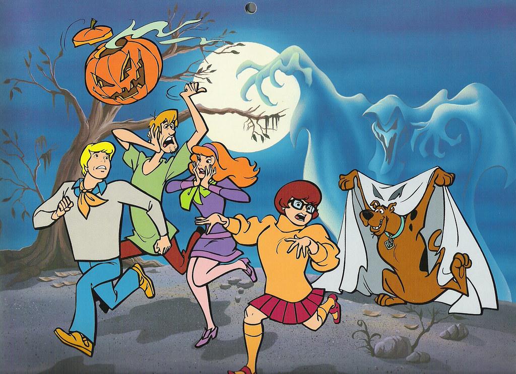 Hanna-Barbera calendar, 1998 - Scooby-Doo Halloween | Flickr