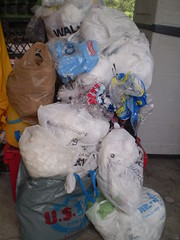 plastic bags awaiting recycling | by EvelynGiggles
