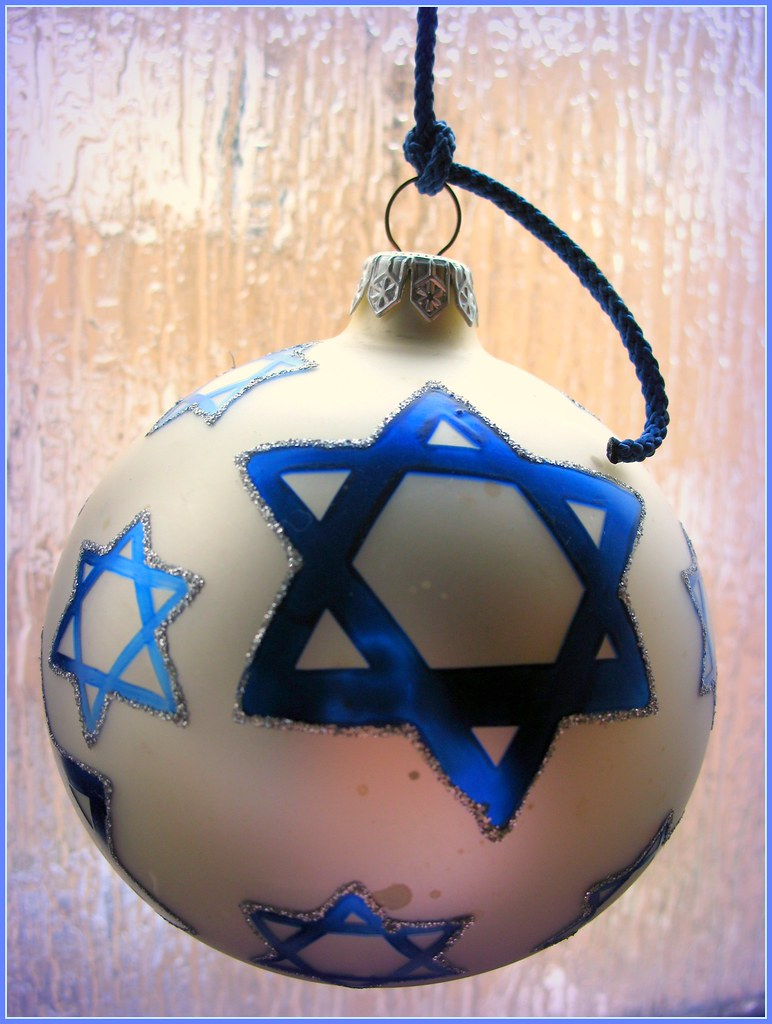 Jewish Christmas Tree Ornament | Merry Christmas and Happy N… | Flickr