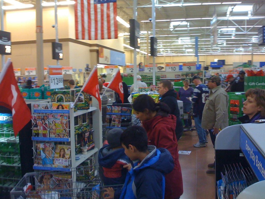 line at walmart on christmas eve edmond oklahoma by wesley fryer - Walmart Christmas Eve