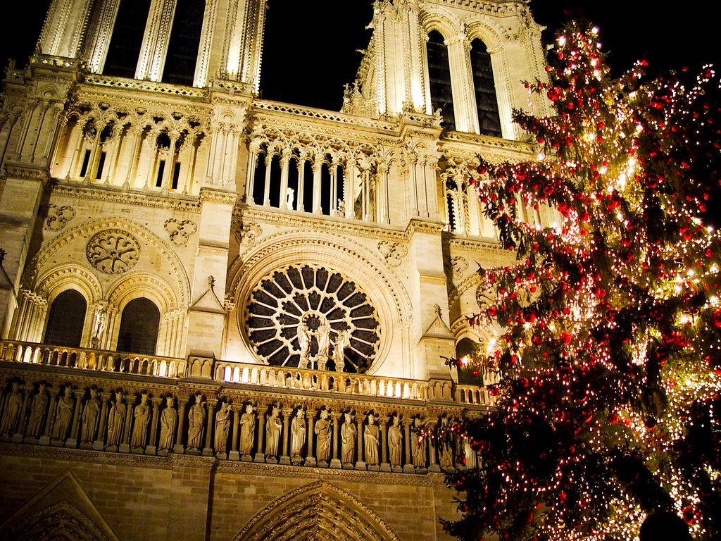 Notre Dame and a christmas tree. | Notre Dame de Paris. And … | Flickr