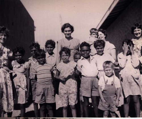 The Oodnadatta Childrens home (approx 1959)