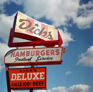 Dick's Hamburgers, Seattle | by qwkdtsn