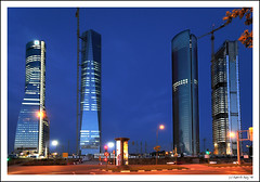 Cuatro Torres Business Area. Hello and see you soon... Spain! | by B'Rob