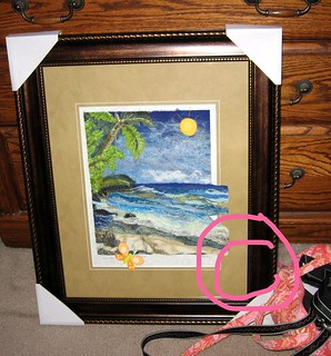 Fiber Art matted and ready to deliver... Maui Seascape.... | by Laurie LS Wright (DoodleBugDezines)
