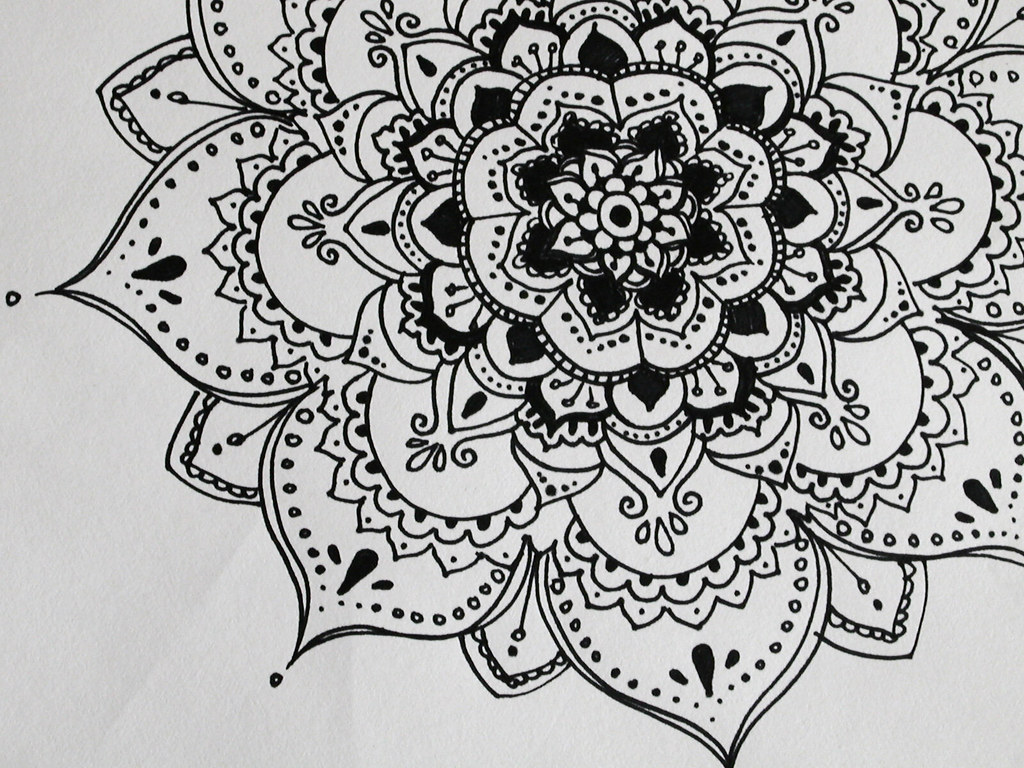 Draw Henna On Paper Circle Henna On Paper Google Search Art Tips