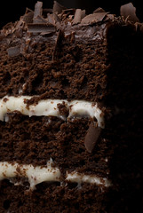 Chocolate Layer Cake with Cream Cheese Frostings | by bakeorbreak