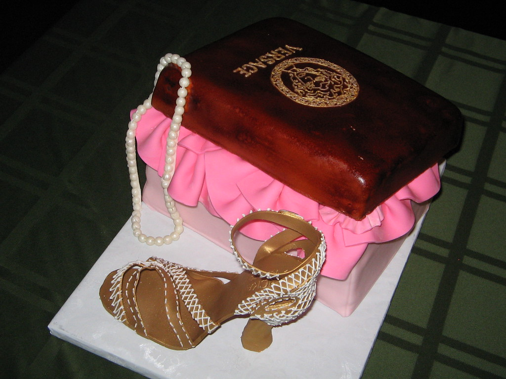 Versace Shoe Box Cake My First Sugar Shoe Made To Match T Flickr