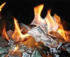 Burning Money | by purpleslog