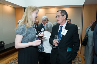 Enjoying the company at the reception | by Center for Neighborhood Technology