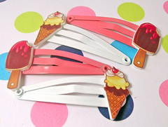 Ice Cream Clippies | by acrylicana