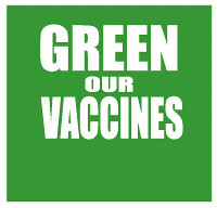 Green Our Vaccines front logo | by David SBM