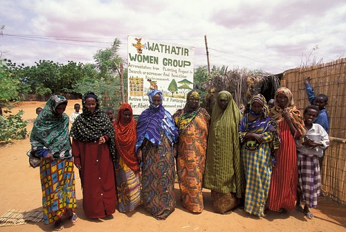 A local women's group | by World Bank Photo Collection