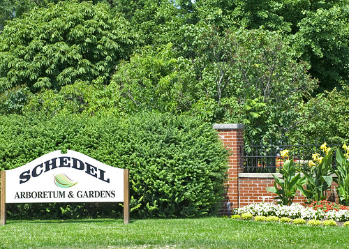 Schedel Sign Schedel Arboretum And Gardens Elmore Ohio Don Johnson 395 Flickr