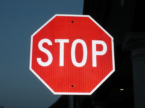 Stop Sign | by ladybeames