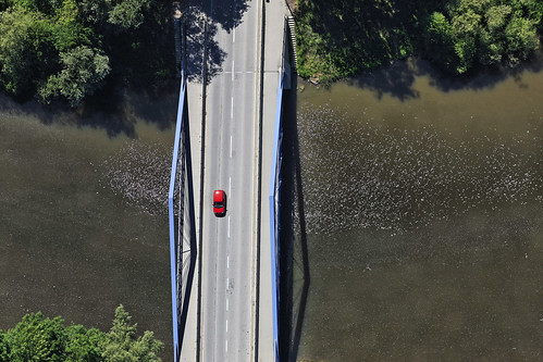 Over The Bridge | by Aerial Photography