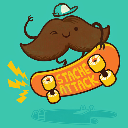 Stache Attack! | by pilihp