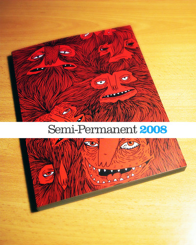 Semi-Permanent 2008 Book - Cover | by pilihp