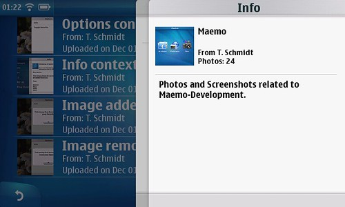 Informations about a photoset | by T. Schmidt