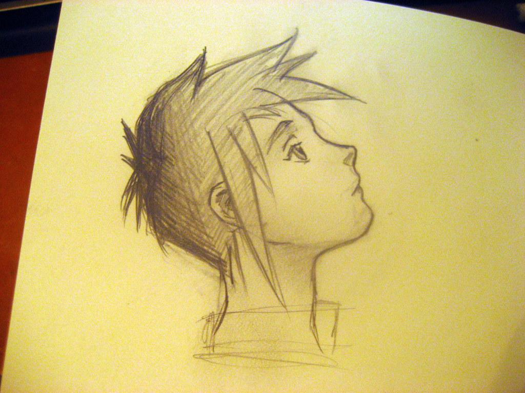 Sketch anime boy by melindawyers sketch anime boy by melindawyers